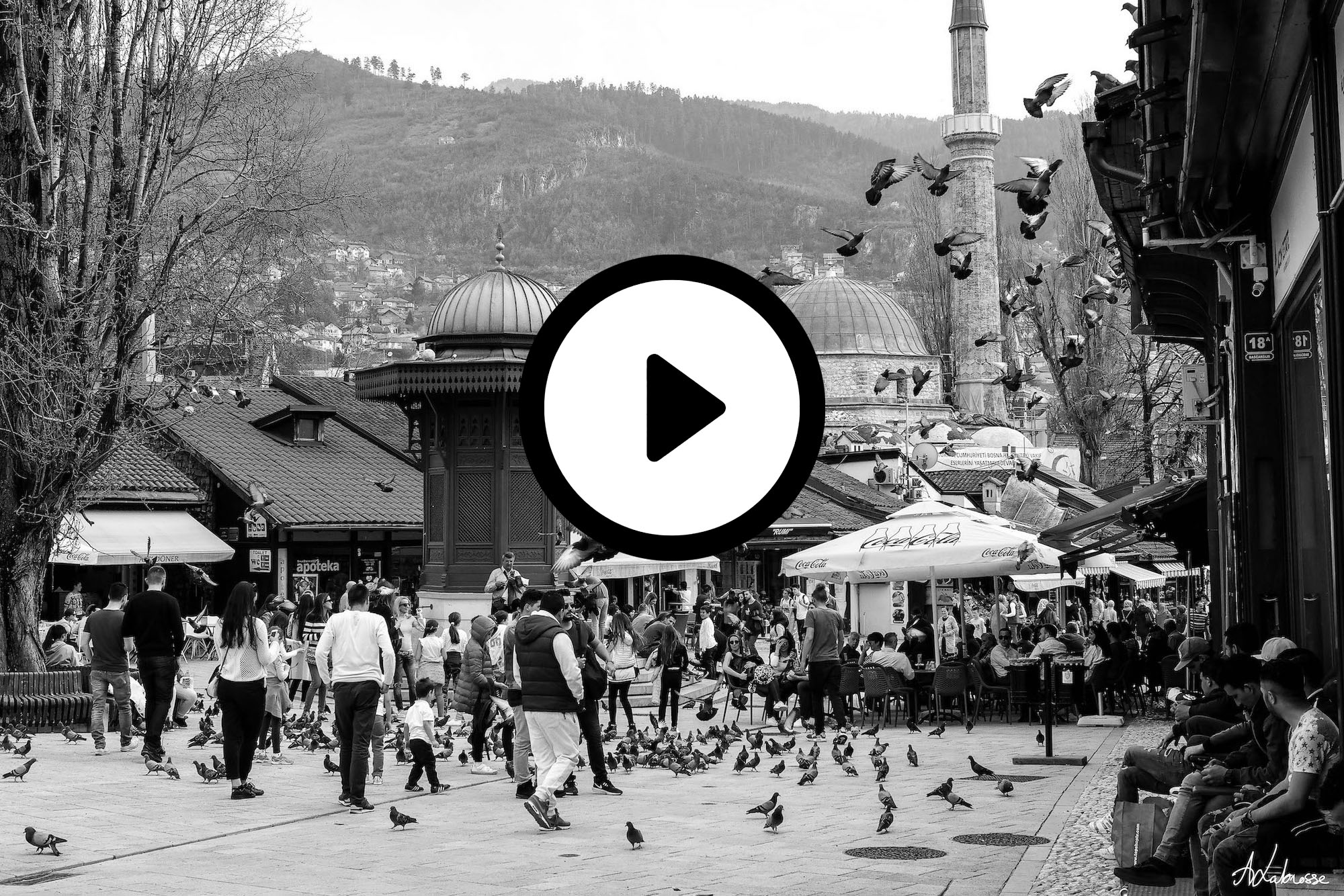 Sarajevo, premières émotions